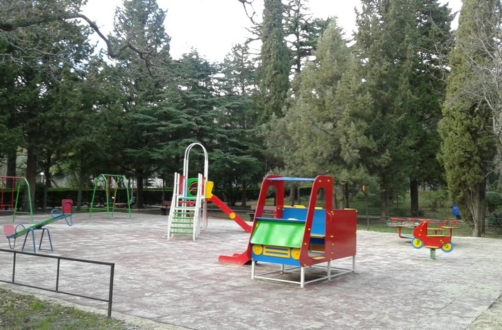 Площадка на территории Днепра