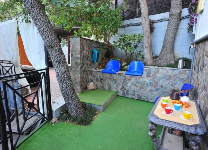 Кофейный дворик (или место для курения)